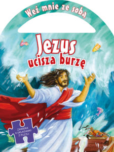 Jezus ucisza burze + puzzle